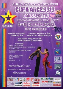 Afis - Cupa Argessis 2013