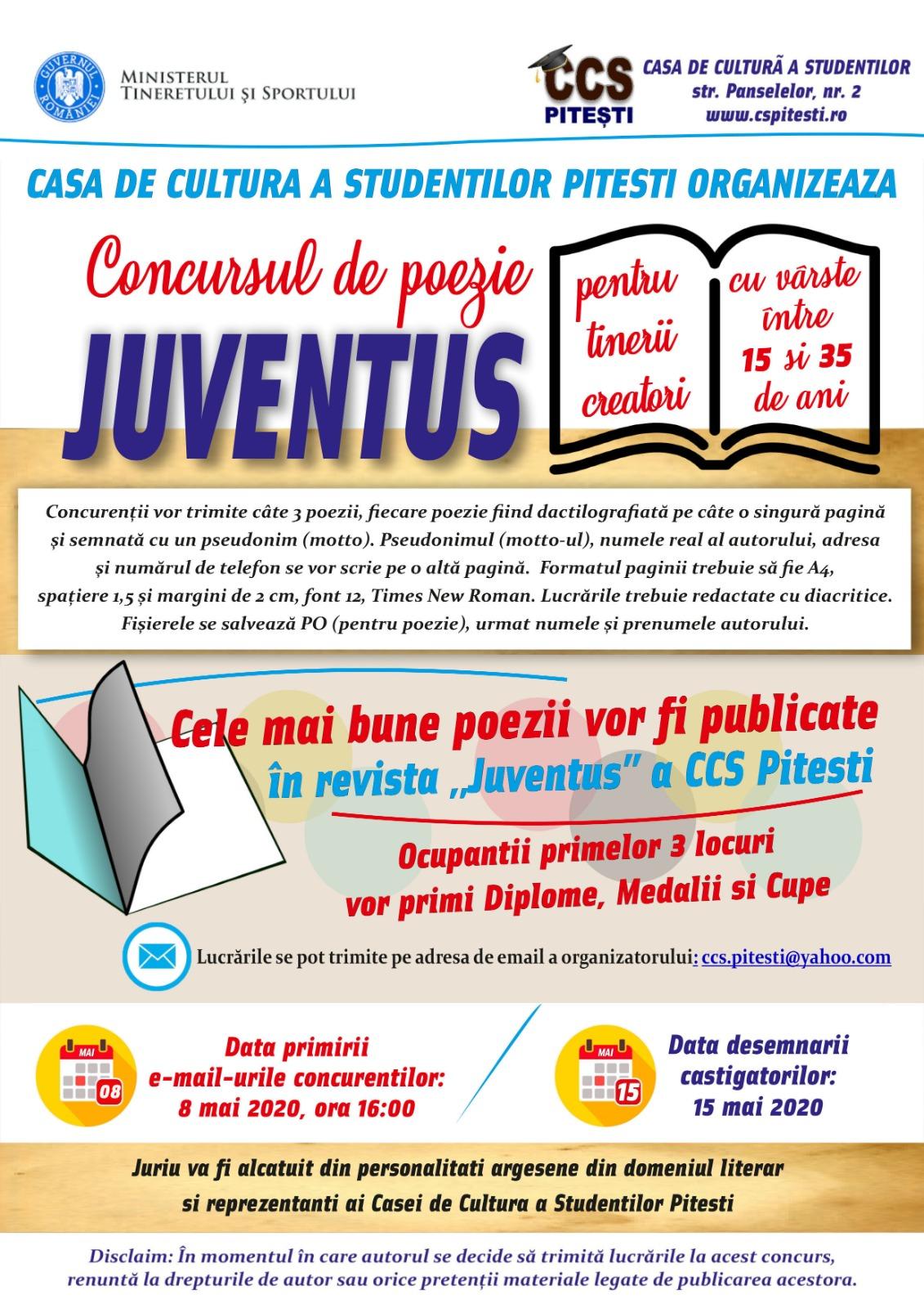 "Concursul Național de Poezie ""Juventus"""
