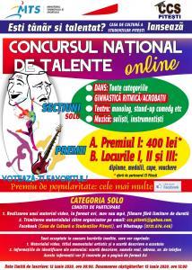 Concursul de talente CCS Pitești -  2020